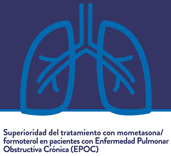 Superioridad del tratamiento con mometasona/formoterol en pacientes con EPOC